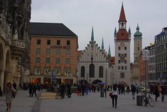Marienplatz. Munich (Bernard Mowbray) Tags: munich2012