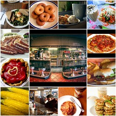 Diner Mosaic~ (Brown Betty) Tags: california nyc newyorkcity pink flowers blue red people italy food signs newyork holland green art cup netherlands glass coffee amsterdam shop pancakes breakfast dinner tile pie lunch restaurant bacon vegan cafe check fdsflickrtoys neon poem tea mosaic restaurants mosaics diner coffeeshop spoon frenchfries sandwich frenchtoast foodporn tip fries tips eggs poems diners hellskitchen creamers cupandsaucer goveg guestcheck dinerfood munsondiner tunasandwich checkplease dinerbooth waiterrant top20mosaics dinermosaic