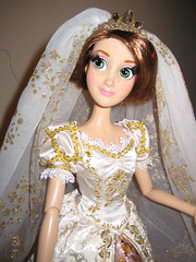 Limited Edition Wedding Rapunzel Doll (scarlett1854) Tags: disney rapunzel tangled disneyprincess disneydoll limitededitiondoll tangledeverafter rapunzelwedding rapunzelshorthair