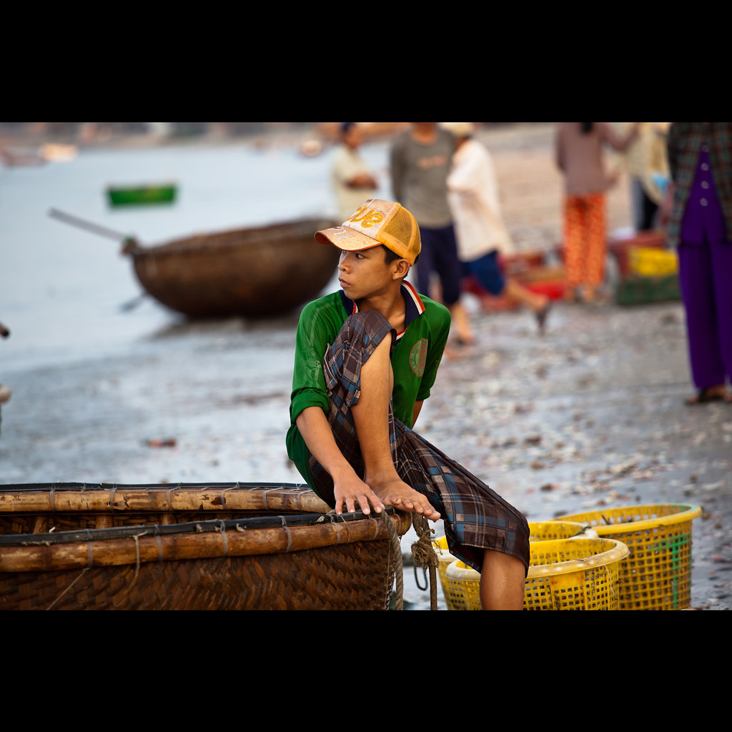 Going Fishing, Mui Ne, Vietnam
