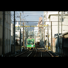 (Masahiro Makino) Tags: japan photoshop canon eos kyoto sigma adobe   70300mm lightroom randen f456 60d   keifukuelectricrailroadcoltd 20120211085219canoneos60dls640p