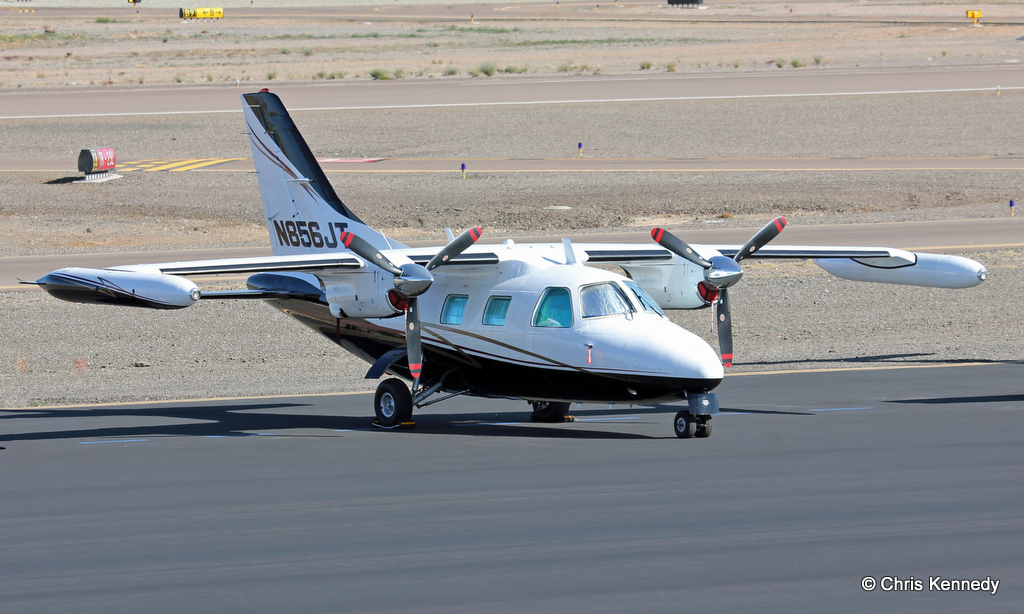 mu2 4 Departure from mountain air (2875 feet @ 4500 msl) followed by simulated short field landing demonstrates the capabilities of the mu2.
