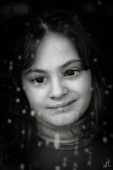 Transparence #2 (Francesco Agresti  www.francescoagresti.com) Tags: portrait people blackandwhite bw italy monochrome children person photography blackwhite bokeh sony innocence vignetting helios triptychs nex helios58mm nex3 sonynex s8un3no frankies8un3no