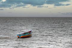 Liliendaal #7a (*Amanda Richards) Tags: ocean water boat guyana georgetown seawall atlanticocean