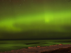 Northern Lights 2/19/12 (Aurora Spirit) Tags: green night lights aurora lakesuperior northernlights