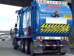 AW Garbage Truck (Photo Nut 2011) Tags: california trash garbage junk sandiego disposal freeway waste refuse aw sanitation 2224 garbagetruck trashtruck wastedisposal alliedwaste