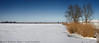 Not really much to do......... (Marijke M2011) Tags: winter panorama lake snow holland ice bluesky frozenlake zeedijk uitdam canon5dmarkii