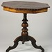 238. 19th Century Marquetry Octagonal Parlor Table
