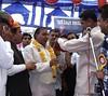 सुरेश माहेश्वरी  , किम गुजरात का सम्मान (dayaramalok) Tags: kim suresh sammelan maheshwari darji samman shamgarh