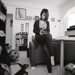 Fuji Acros-163 (Aranjuez Chou) Tags: life sanfrancisco bw 120 film mediumformat t rachel 11 hasselblad squareformat 20c carlzeiss hasselblad500cm fujiacros100 kodakd76  9mins  epsonv750   cf100mmf35t