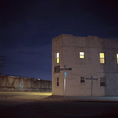 (patrickjoust) Tags: road county street city usa color 120 6x6 tlr film night analog america dark square lens point us reflex md focus long exposure fuji mechanical metro united release tripod north patrick twin maryland slide cable baltimore mat chrome 124g after medium format states tungsten manual 80 joust fujichrome e6 yashica estados dundalk 80mm f35 reversal sollers unidos yashinon t64 autaut patrickjoust