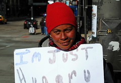 Angelina (Cragin Spring) Tags: city people urban chicago streets illinois midwest downtown loop homeless profile stranger il struggling chicagoillinois chicagoil