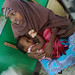 Two-year-old Zainab recovers from gunshot wound at Mogadishu's Benadir hospital