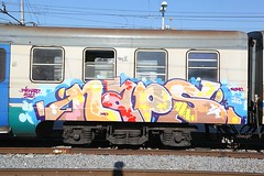Naps (STEAM156 PHOTO KING !) Tags: rome graffiti trains naps steam156 wwwaerosolplanetcom