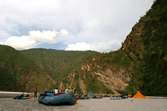Camp site Sunkosi River Adventure rafting and Kayaking trip