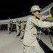 Seabees erect a K-span at Camp Leatherneck