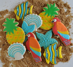 Tropical cookie time!