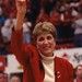 Women's basketball coach Kay Yow