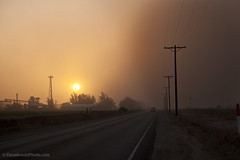 Sandstorm a comin' (Dave Arnold Photo) Tags: california ca sunset usa southwest weather us photo sand image wind picture pic images calif photograph sandstorm imperial dust duststorm brawley badweather elcentro imperialcounty hurricaneforce blowingsand highwind westernus davearnold blowingdust davearnoldphotocom