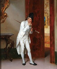 admiral wondering if he dares (to) wear white after labor day second-guessing his choice to wear white after labor day 600x727 Eavesdropping (Jason SF) Tags: opera pumps lace antique satin slippers regency dandy fop britches menswear dandies tsars
