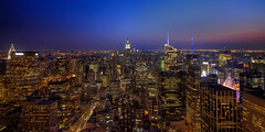 After Sunset - New York City from above (1982Chris911 (Thank you 1.250.000 Times)) Tags: newyorkcity usa newyork brooklyn us manhattan united unitedstatesofamerica queens neonlights newyorkskyline empirestatebuilding states newyorksunset manhattannewyork krieglsteiner empirestateofmind 1982chris911 christiankrieglsteiner christiankrieglsteinerphotography