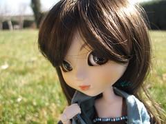 Actea - Spring time. (Katrana) Tags: spring spain doll time groove pullip picnik collector veritas muñeca obitsu junplanning actea rewigged