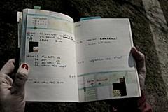 weekly illustration of my organizer 2012 (pokrocka) Tags: paper ebay diary korean organizer 2012 nemoalice