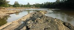 Pinoh River (nizarkauzar) Tags: rock stone river landscape borneo batu sungai kalimantan nanga melawi pinoh