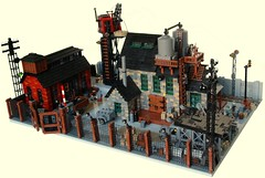 Wehrmacht Base, Eastern Poland 1943. (Kris_Kelvin) Tags: lego worldwarii wehrmachtsoldiers