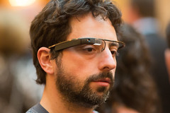 Google Co-Founder Sergey Brin Sports the New Google Glasses at Dinner in the Dark, a Benefit for the Foundation Fighting Blindness -- San Francisco, CA