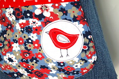 eco-friendly bucket bag (Bouclenoire) Tags: bag bucket recycled handmade sewing handbag culdesac shoulderbag upcycled keykalou ecofrienldy
