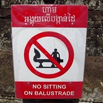 "No Sitting on Balustrade <a style=""margin-left:10px; font-size:0.8em;"" href=""http://www.flickr.com/photos/14315427@N00/7113028213/"" target=""_blank"">@flickr</a>"