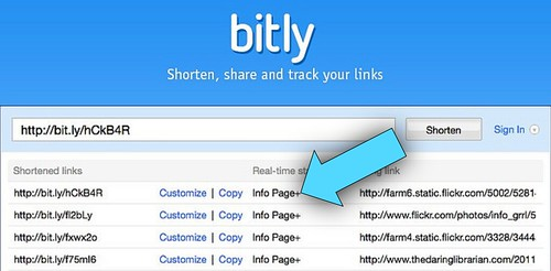 Bit.ly QR Code Shortener & Info Page DATA!