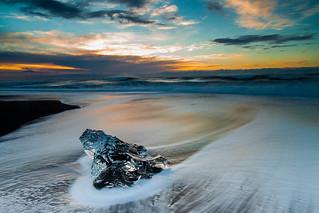 Icy Dawn at Jokulsarlon