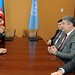 Delegation headed by the minister of youth and sport visited UN HQ