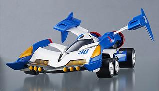 Megahouse - Variable Action《閃電霹靂車》超級阿斯拉01 越野模式