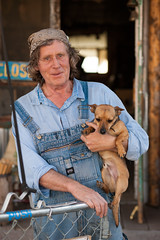 This is Dirk, he owns a small general store in Cahone Colorado. Hes hoping to take his donkeys and ride down to New Mexico with his son to start a new chapter in his life. (mouellic) Tags: street travel friends portrait usa chihuahua dogs vintage nude photography glasses utah cowboy colorado photographer candid happiness nelson roadtrip oldschool explore soul wise overalls moab farmer wisdom bandana cortez wander joana 604 vancity oliverpeoples cahone tumblr mouellic