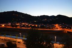 Alès by night quai du Gardon (davidgard30) Tags: crépuscule ales crepuscule gard languedocroussillon 2014 alès