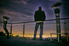 L.A makes everything shine (RaulHudson1986) Tags: california city longexposure winter portrait sky beautiful night canon lights noche la amrica colours exterior view hollywood vistas griffithobservatory estadosunidos 2014 eeuu largaexposicin losngeles 550d theunforgettablepictures raulhudson1986