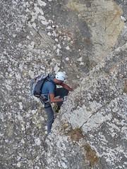 Ferrata degli Alpini (Emanuele Lotti) Tags: italy mountain montagne trekking italia hiking via tuscany di alpini toscana tosco pietra montagna reggiano emiliano monti degli appennino gruppo nei pegaso ferrata escursionismo attrezzata bismantova escursioni castelnovo