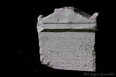 Dion inscription-1 (angelobike) Tags: bw greek ancient olympus marble inscription ancientgreek