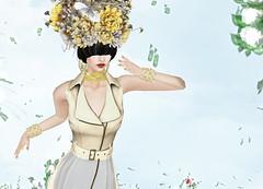 Wicca's Wardrobe - Edith Dress @PENUMBRA (Rehana MiSS SLVietnam, Face of CHOP ZUEY 2015) Tags: fashion secondlife empire laboheme boon rehana penumbra anga belleepoque slink chopzuey wiccaswardrobe rehanaseljan