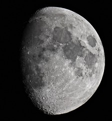 Waxing Gibbous Moon! (Sarah and Simon Fisher) Tags: uk sky moon night canon craters clear astrophotography astronomy worcestershire lunar gibbous waxing maksutov bromsgrove primefocus 600d 127mm moonwatch lunarseas naturalsatellite