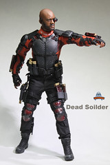 ART FIGURES AF-021 Dead Soilder - 018 (Lord Dragon ) Tags: hot toys actionfigure doll willsmith onesixthscale deadshot 16scale artfigures 12inscale
