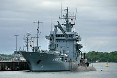 P2290183 (Lumixfan68) Tags: marine ships main submarine tender schiffe deutsche bundesmarine uboote