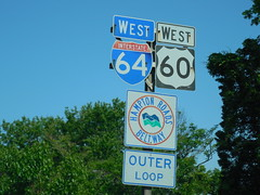 Virginia Interstate Signs (jimmywayne) Tags: virginia loop 64 outer hampton i64 hamptonroads independentcity stateinterstate ouoter