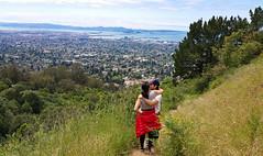 Above Berkeley (weber_sd) Tags: people landscape berkeley spring hike hills bayarea eastbay kisscam