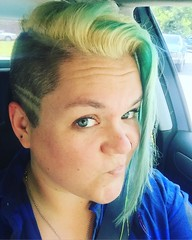 The past week has been rough, so I guess I finally earned my stripes.  Loving the re-bleach in-between look. What color scheme do you think I'll do next?! #haircut #undercut #bleach #hairdye #tealhair #poll #hairart (ClevrCat) Tags: haircut color hairdye look loving do you guess stripes think bleach next been ill what week rough scheme past has poll finally the inbetween earned undercut hairart i tealhair instagram ifttt rebleach