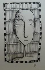 man (catherine329) Tags: man doodle zia penandink zendoodle memademay13