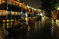 (Arnaud999) Tags: china asia nightshot asie wuzhen watertown chine zhejiang